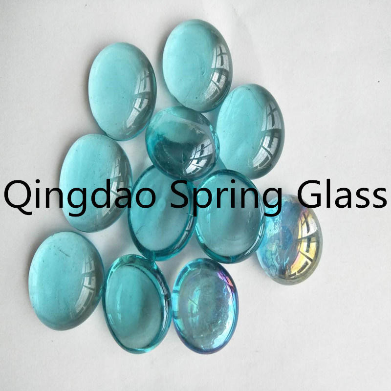 Colored Glass Pebble Stones for Sale
