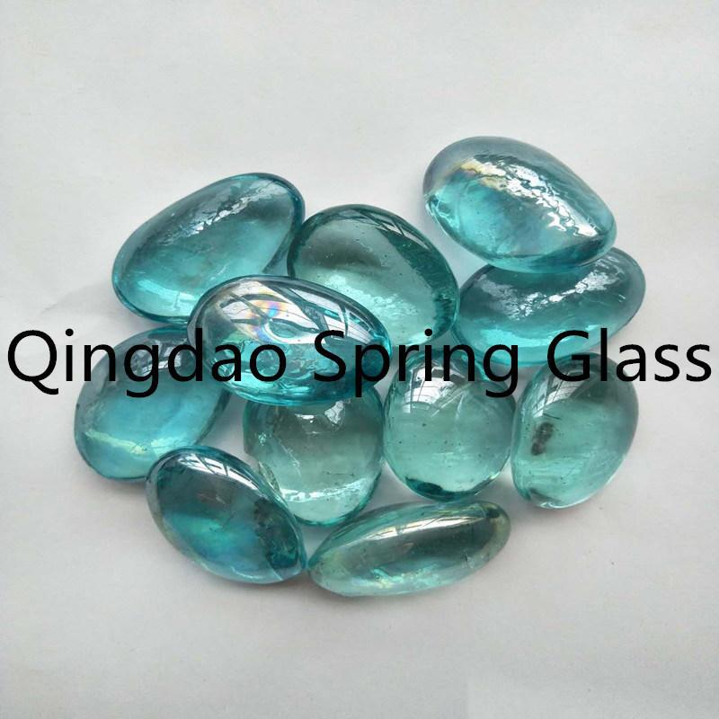 Decorative Glass Pebble Stone for Sale