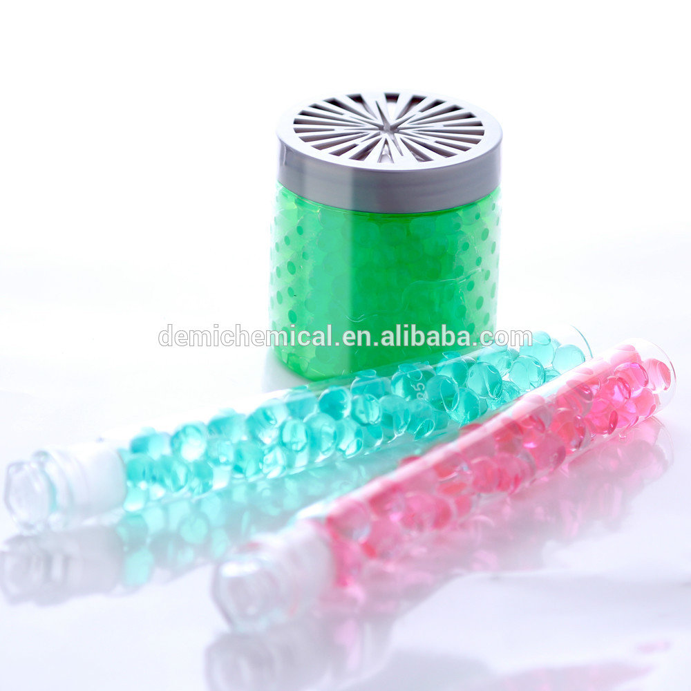 Demi high quality 15 colors available decorative bio water gel beads for candle