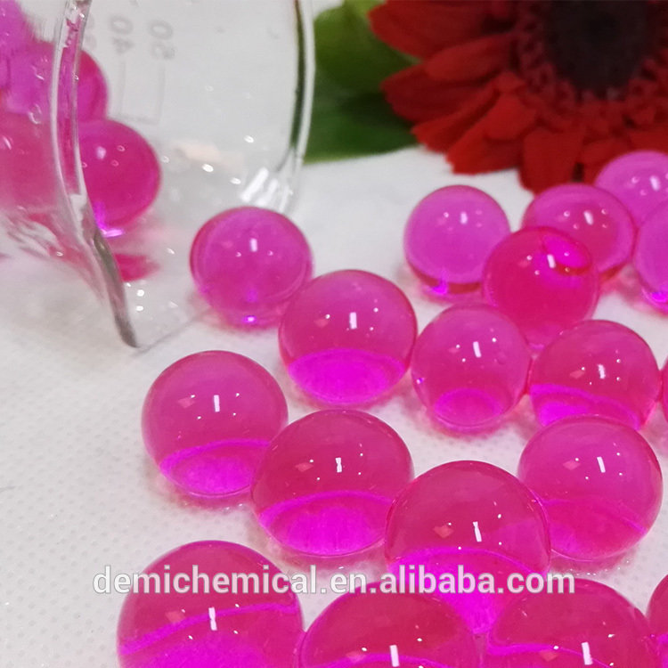 Eco-Friendly Home Decoration Colorful Pearl Indoor Plants Crystal Soil Crystal Water Gel Beads