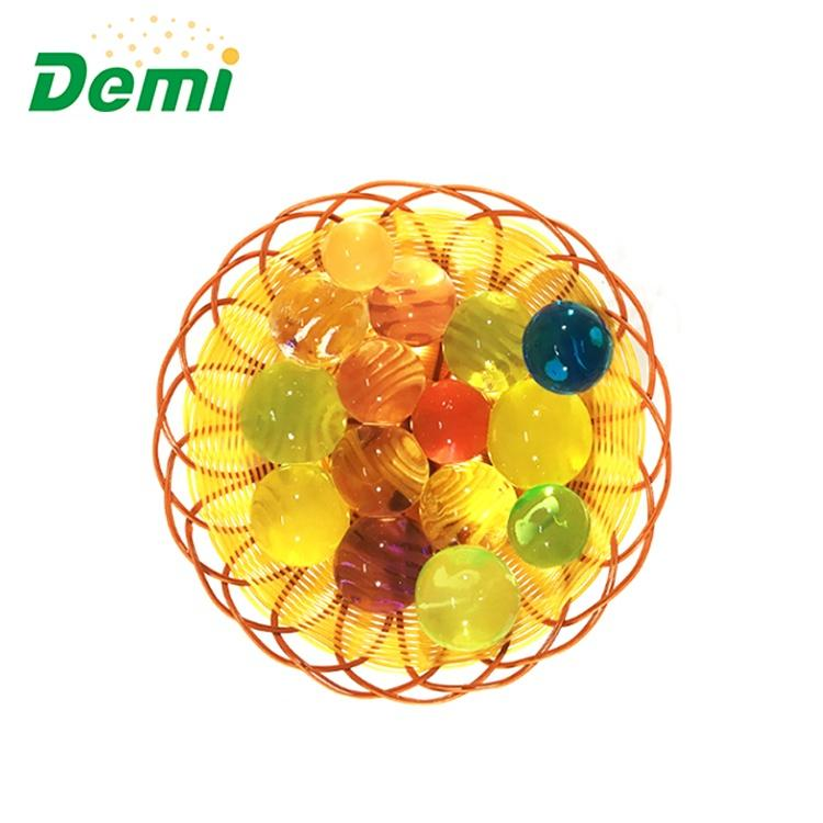 Demi High Quality 15 Colors Available Decorative Glow Water Beads for Gun Harmless Bullet