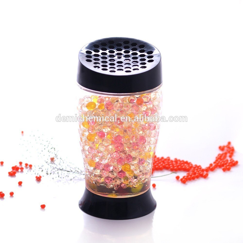 Hydroponic Decoration Unscented Aroma Beads, Pearl Shape Crystal Mud Soil Beads