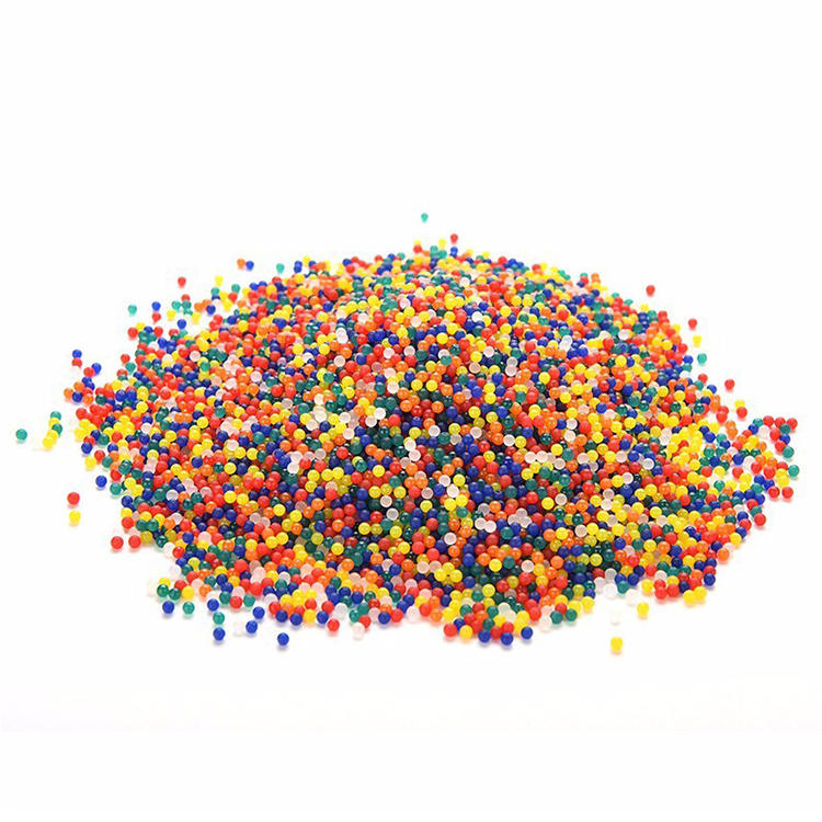 Demi 15 Colors Available Decorative Hydrogel Crystals Round Expandable Water Beads for Gun Harmless Bullet