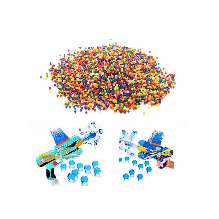 EK,REACH Certificates Demi High Quality 15 Colors Available Decorative Bio Water Gel Beads for Gun Harmless Bullet