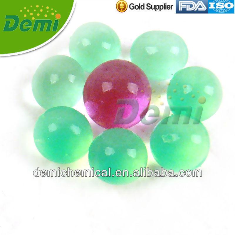 Bio gel balls that growing in water