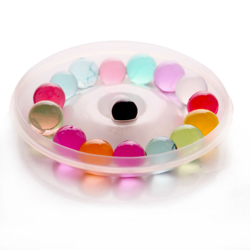 Round colorful crystal mud soil water beads,water crystal soil