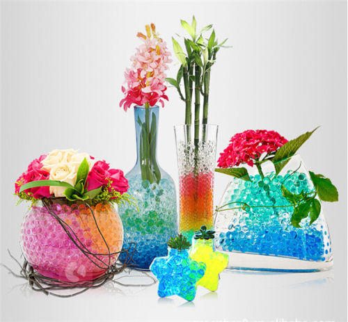 Best-selling home garden decoration flower crystal mud soil hydrogel clay