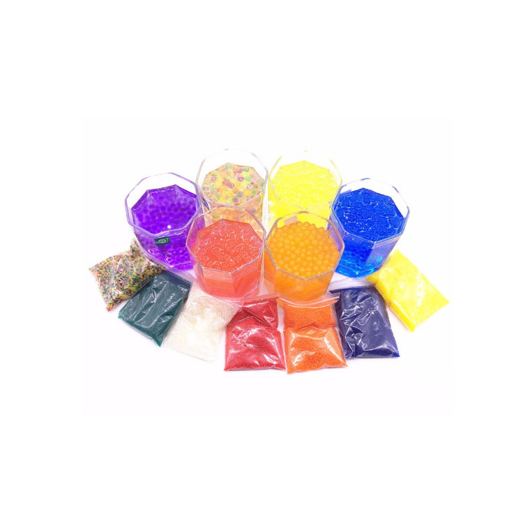 Wholesale plant decoration polymer water absorbent polymer giant gel water beads