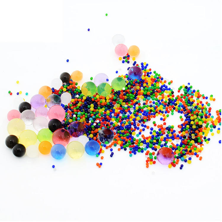Eco-friendly Demi Various Color Growing Decorative Gel Balls Water Beads For Air Freshener