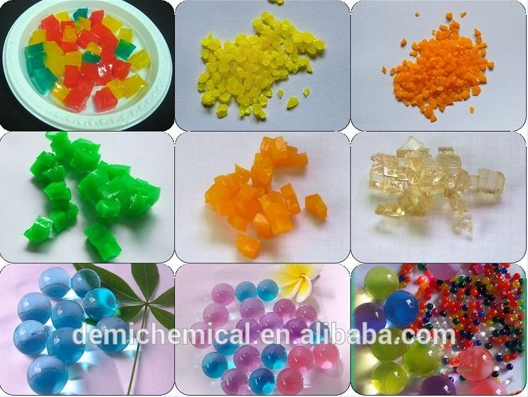 Multiple packaging 15 colors crystal mud soil water beads for kids play and decoration