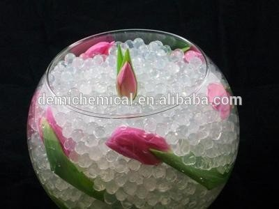 Demi high quality 15 colors available decorative water crystal ball for gun harmless bullet
