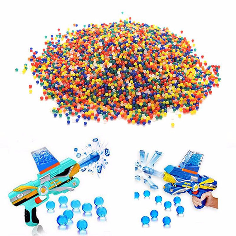 water bead gun harmless bullet water beads