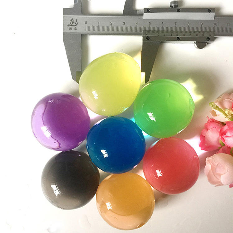 OEM Accepted Colorful Crystal Soil Water Gel Beads For Decoration