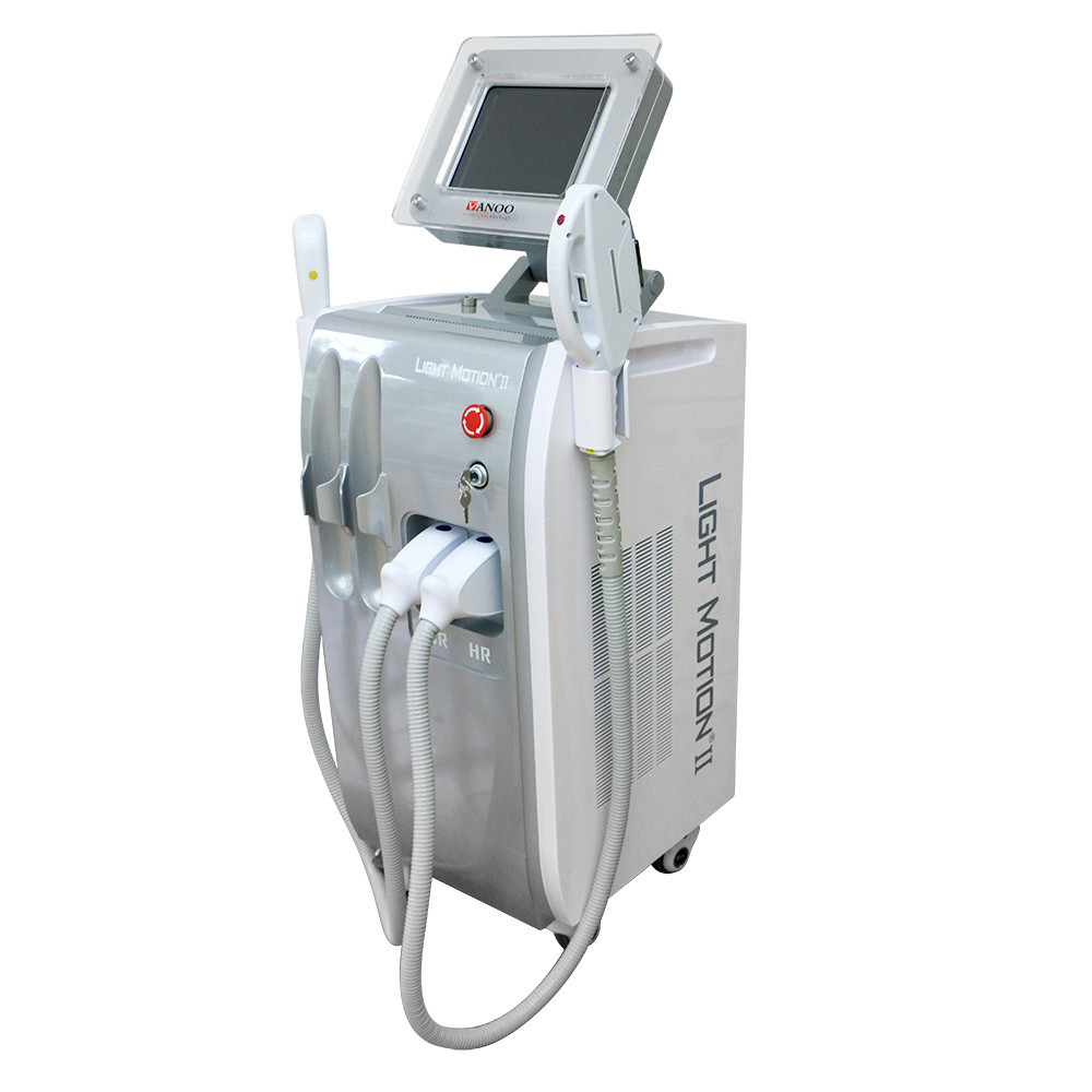 hot vertical SHR ipl pulsed light hair removal equipment for sale