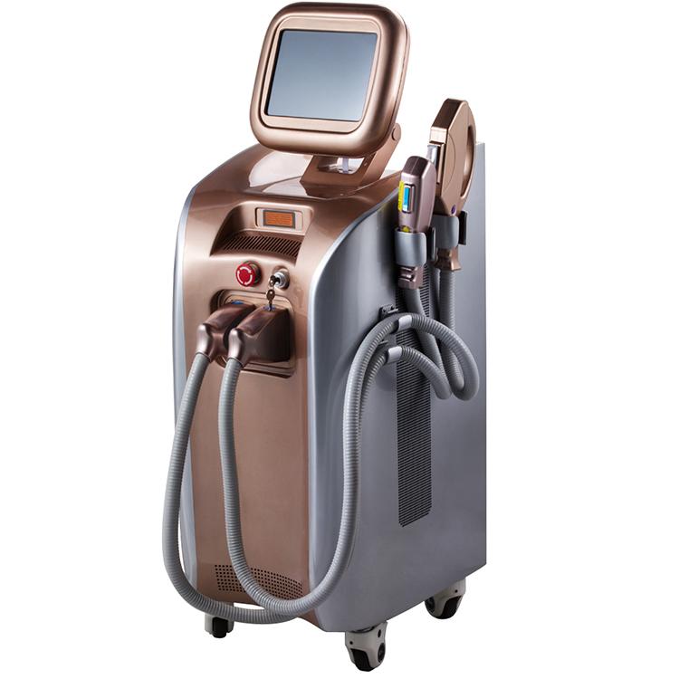 square in-motion SHR IPL super hair removal depilation machine