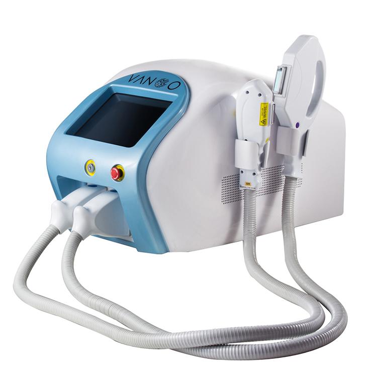 ISO13485 TUV approval factory Shanghai Vanoo laser SHR IPL OPT DPL hair removal skin rejuvenation machine with 500K shots lamp