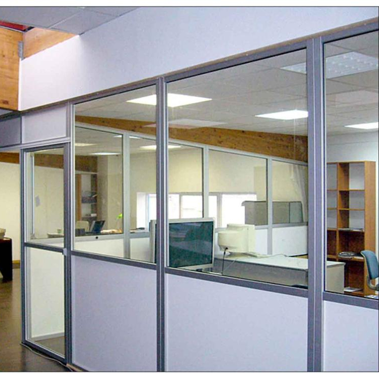 Glass officepartitions aluminiumpartition wall for commercial