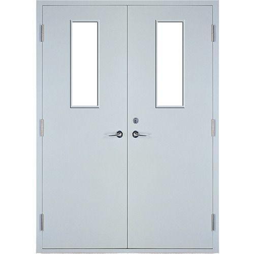 2100mm*2050mm fire steel door double panels fire exit door fire resistant time 90 minutes