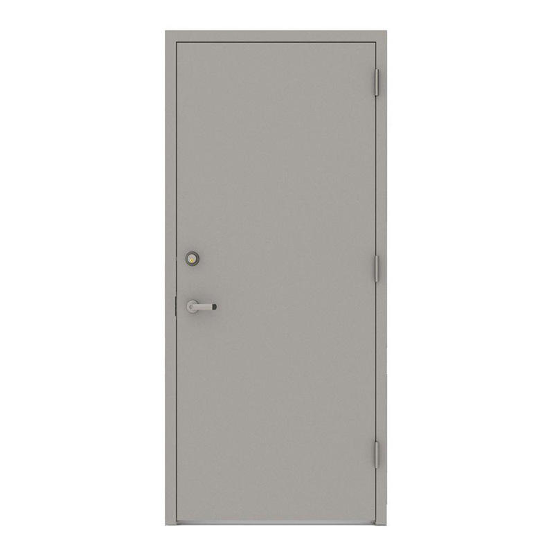 Emergency exit 3 hours Panic bar fire rated steel doors