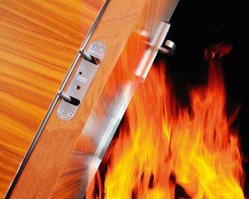 fire rated door with vision panel 1.5 hours fireproof door