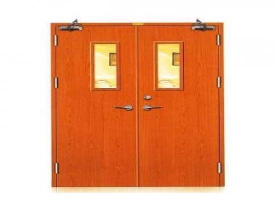 High-grade Standard Wooden Fireproof Door for Building