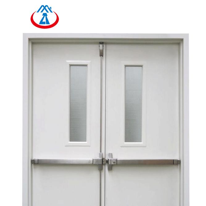 Emergency Fire Exit Fire Resistant Steel Metal Fire Rated Door Design