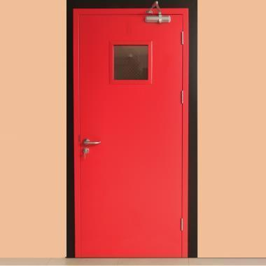 Top Quality 2 Hours Resistance Time Fireproof Security Fire Rated Steel Door