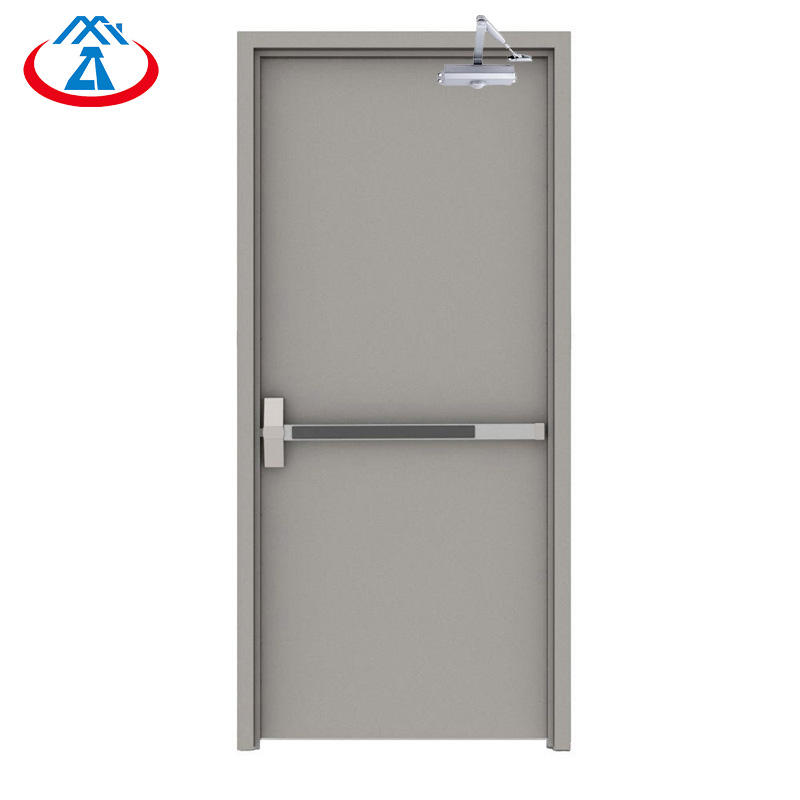 90 minutes fire rated doorsemergency exit doors with panic bar