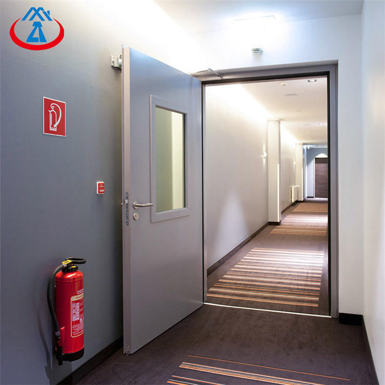 Swing Open Style and Fire Rated Door Security Exit Door with Vision Panel from China