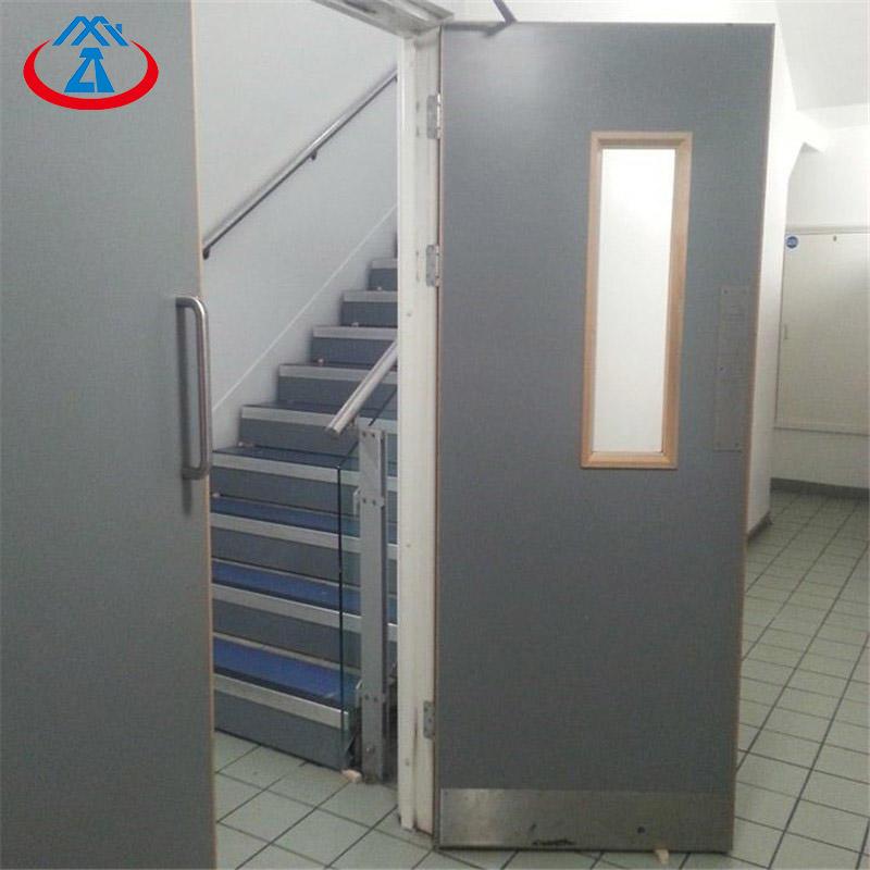 Security fire rated door steel exitfire door from China
