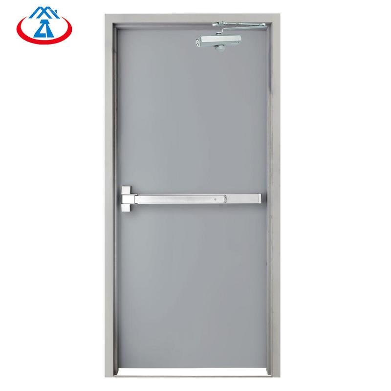 90 minutes fire resistant fire rated doors single emergency door