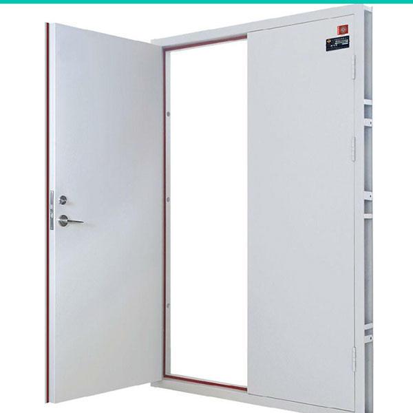 Steel Metal Material Fire Exit Door Manufacturer 3 Hours Rated Fire Resistance Time Fireproof Door