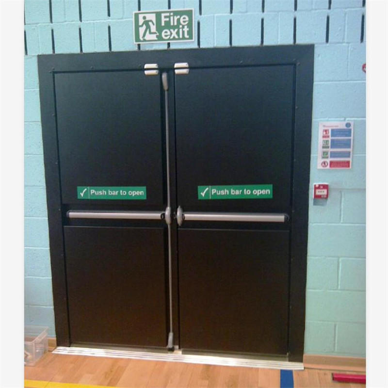 Swing Open Style and Finished Surface Metal Fire Exit Door