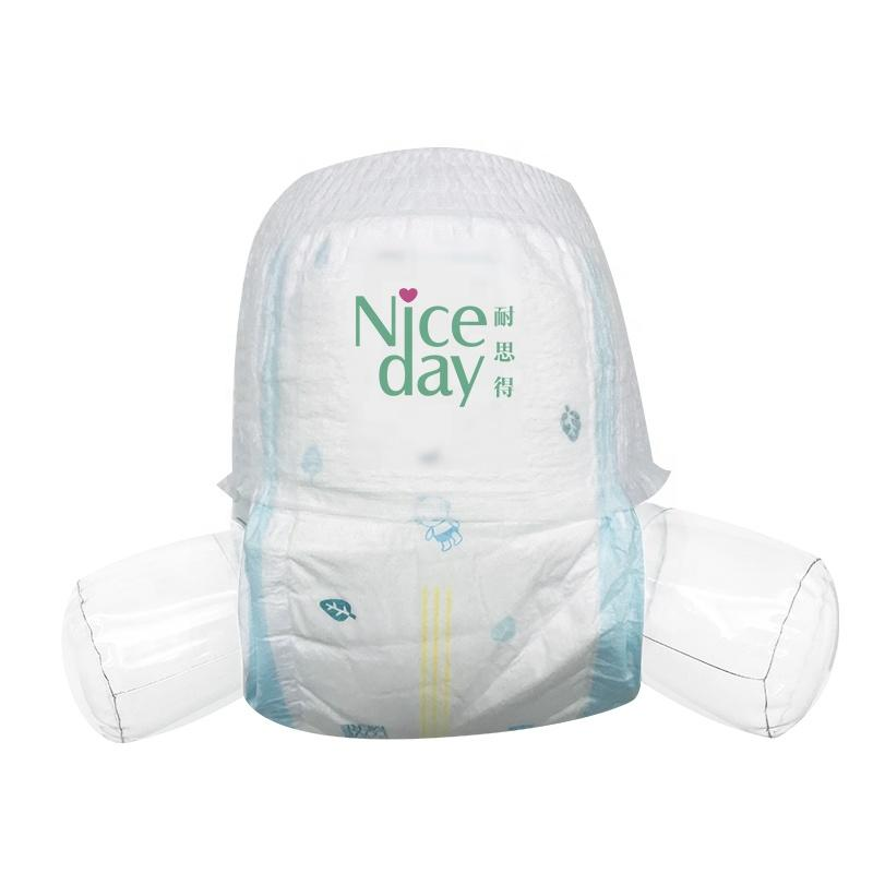 Deep sleeping 3D side leak proof newborn pull up baby diapers hot sale on line baby diaper pants
