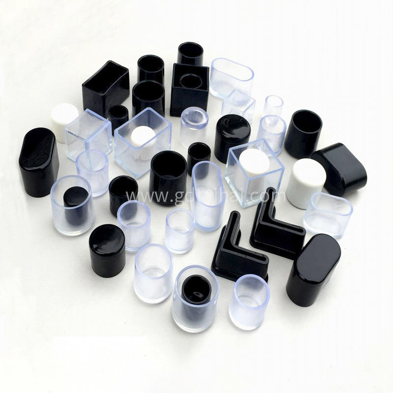Black transparent square rubber bellows rubber silicone grommet