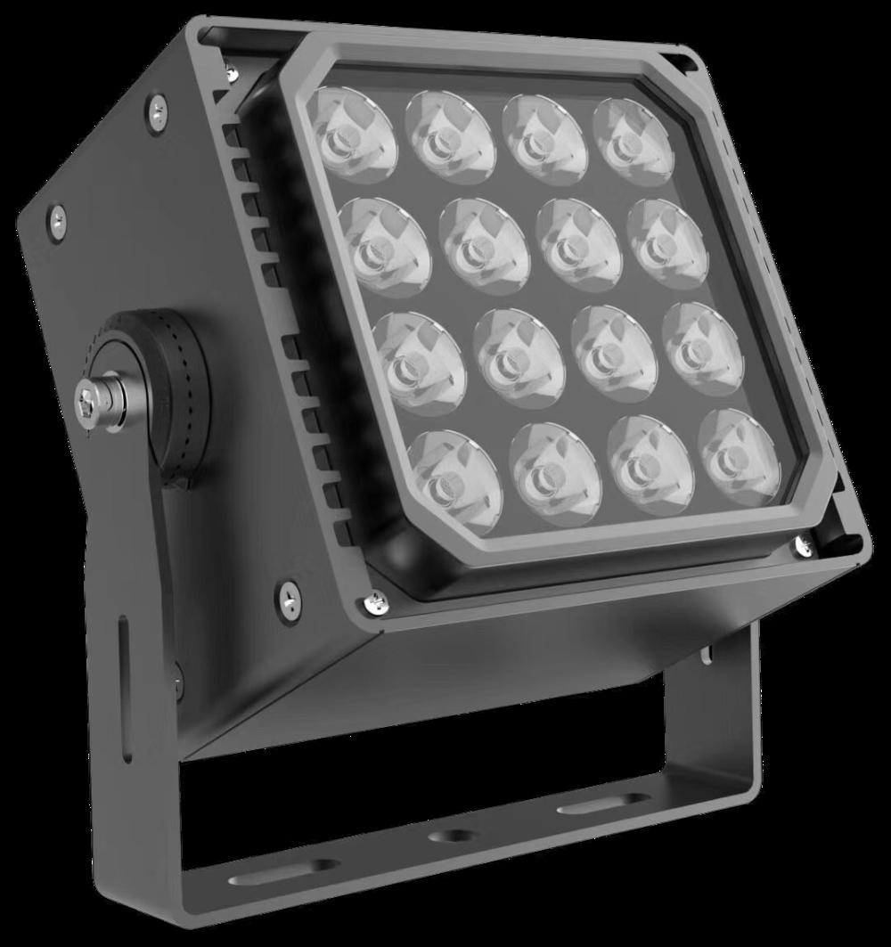 Low price 100 watt led rgb flood light landscape waterproof plaza lights
