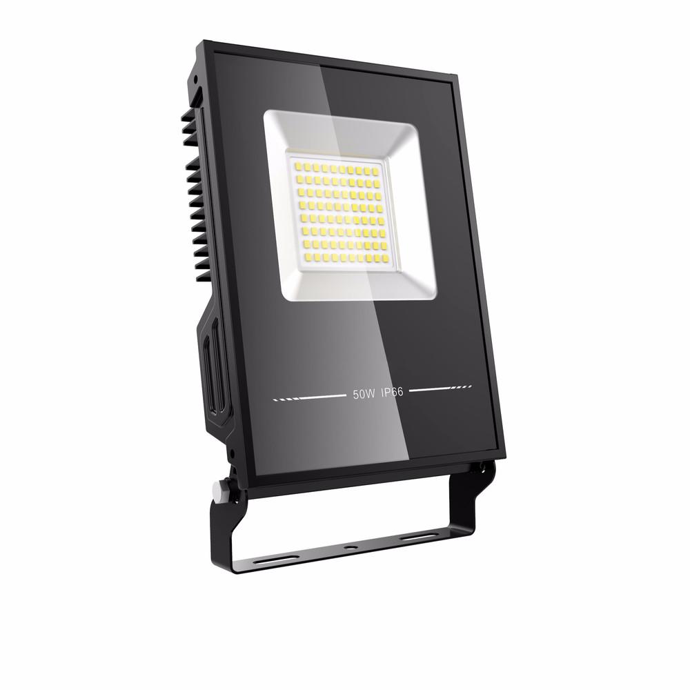 2019 best seller AL body 100W LED flood light lumen efficiency 130lu/w waterproof IP66 with CE and ROHS