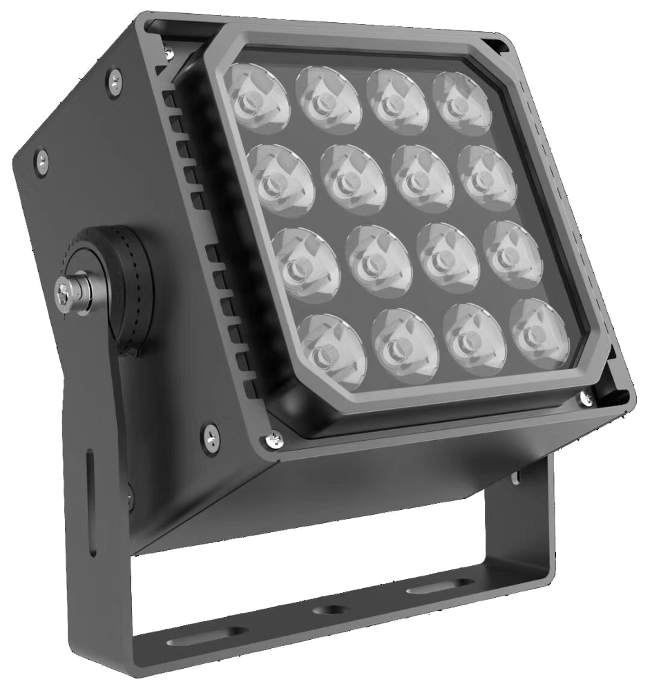 5 years warranty led flood light fixture square type