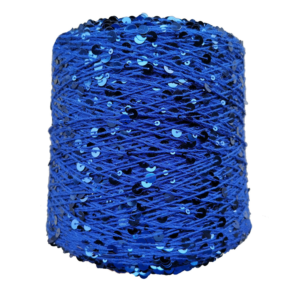 Hot sale 3MM+6MM sequin yarn 100% cotton yarn forDecorative hand-woven