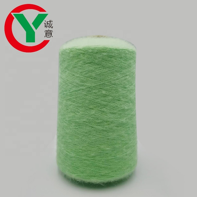 Mohair crotchet yarn for matching sweater/ super soft many color acrylic wool yarn crochet