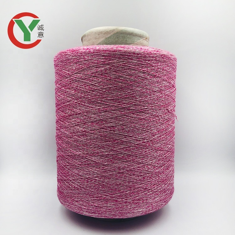 factory price 1/10Nm 80%rayon 20%nylon blended yarn for knitting