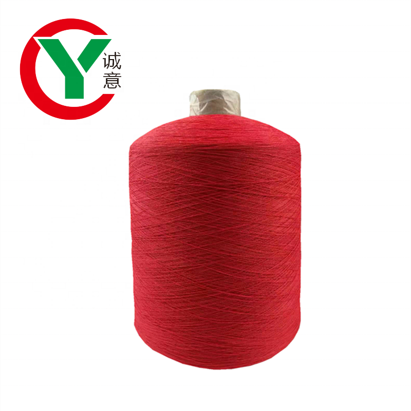 High twist dry dyed pattern viscose blend yarn for machine/ nylon yarn for make sport wear fiber