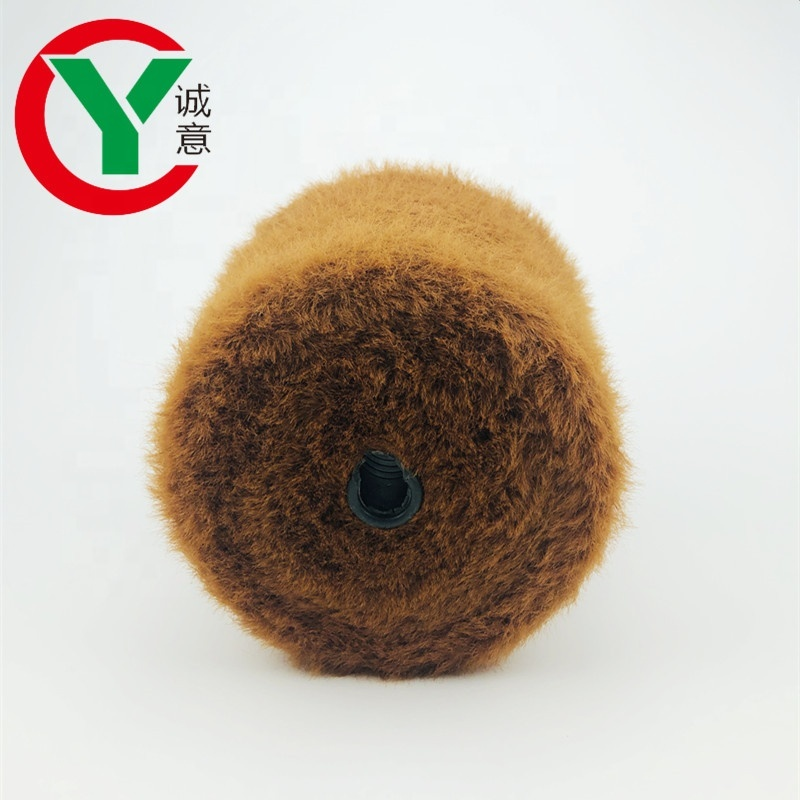 Mink yarn Pattern and Knitting, hand knitting Use 100%Nylon 2CM feather yarn