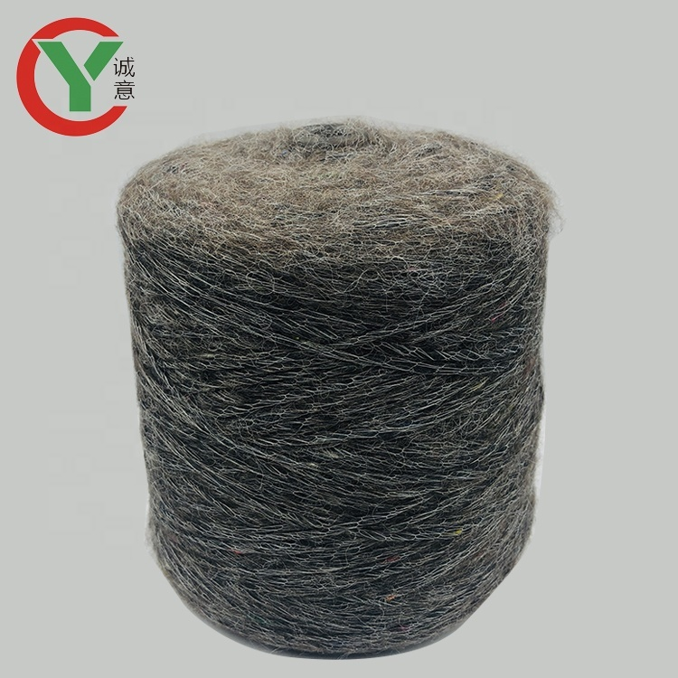 Factory wholesale new style polyester blend acrylic yarn fancy yarn for knitting