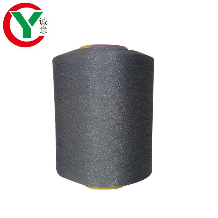 China supply various color yarn viscose nylon blend yarn