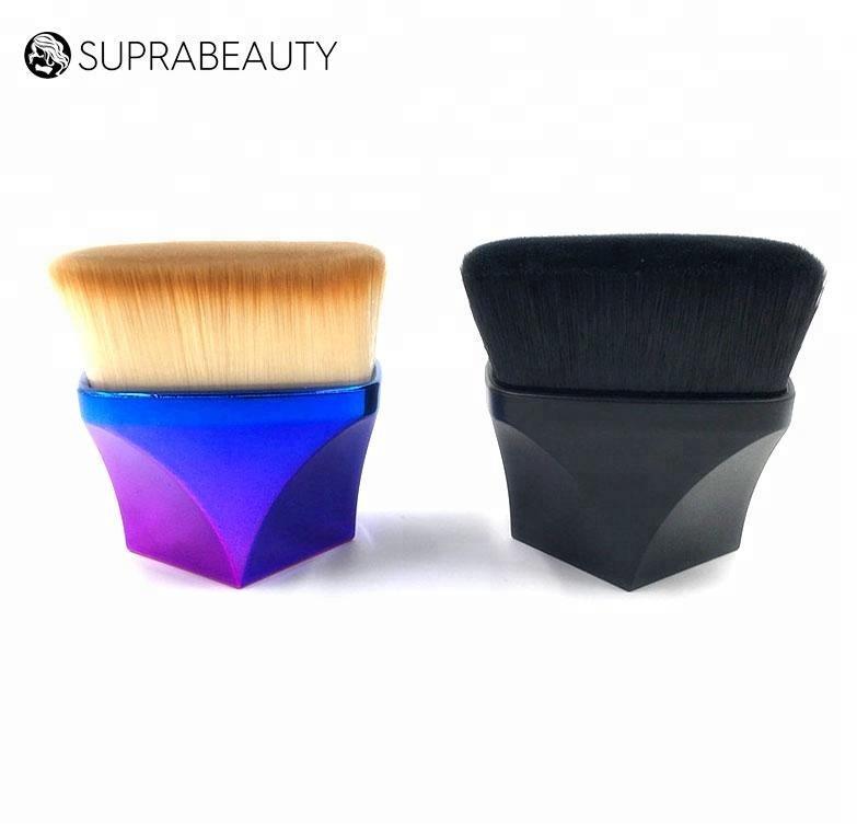 New professional Diamond shape square black kabuki makeup brush