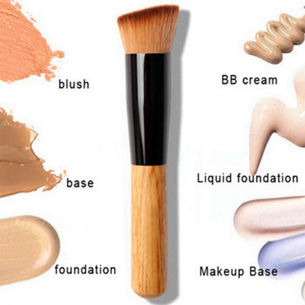 Multifunction Liquid Foundation Brush cosmetic jar Powder Makeup Brush