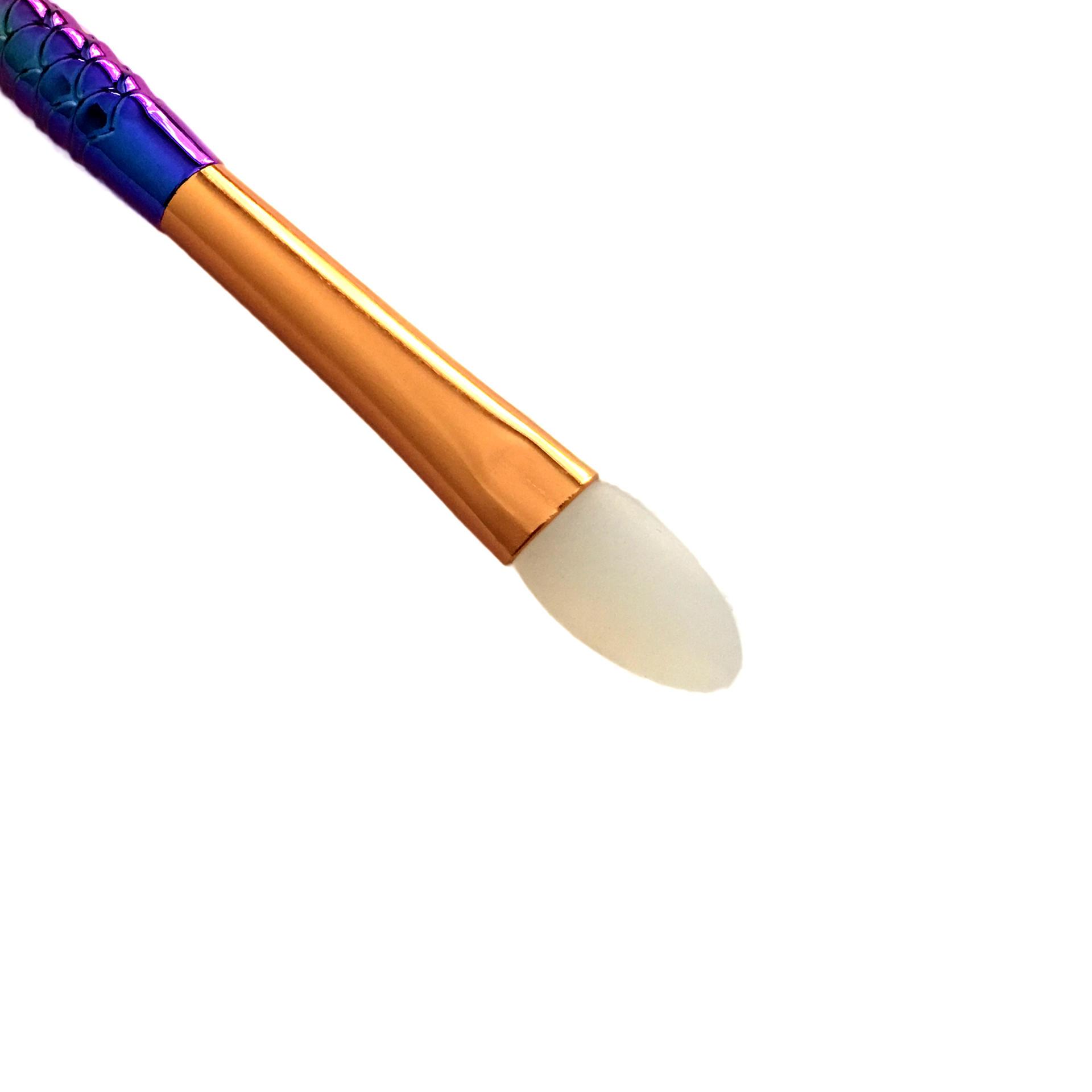 Custom Portable Silicone Eye ShadowBrush Applicator Clean Tools Makeup Brush