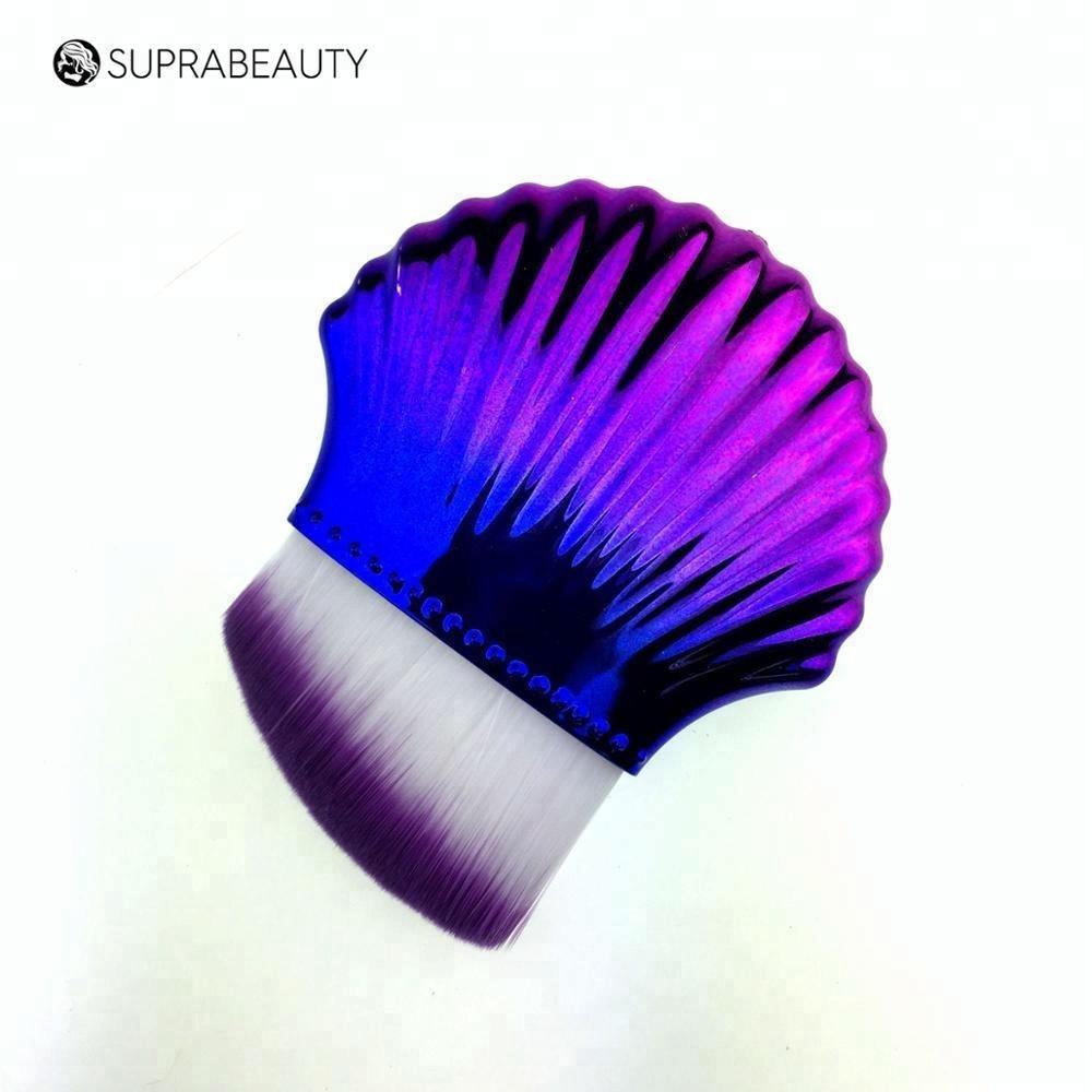 Cream Applicator Curved Wave Foundation Makeup New Fish Single Brush