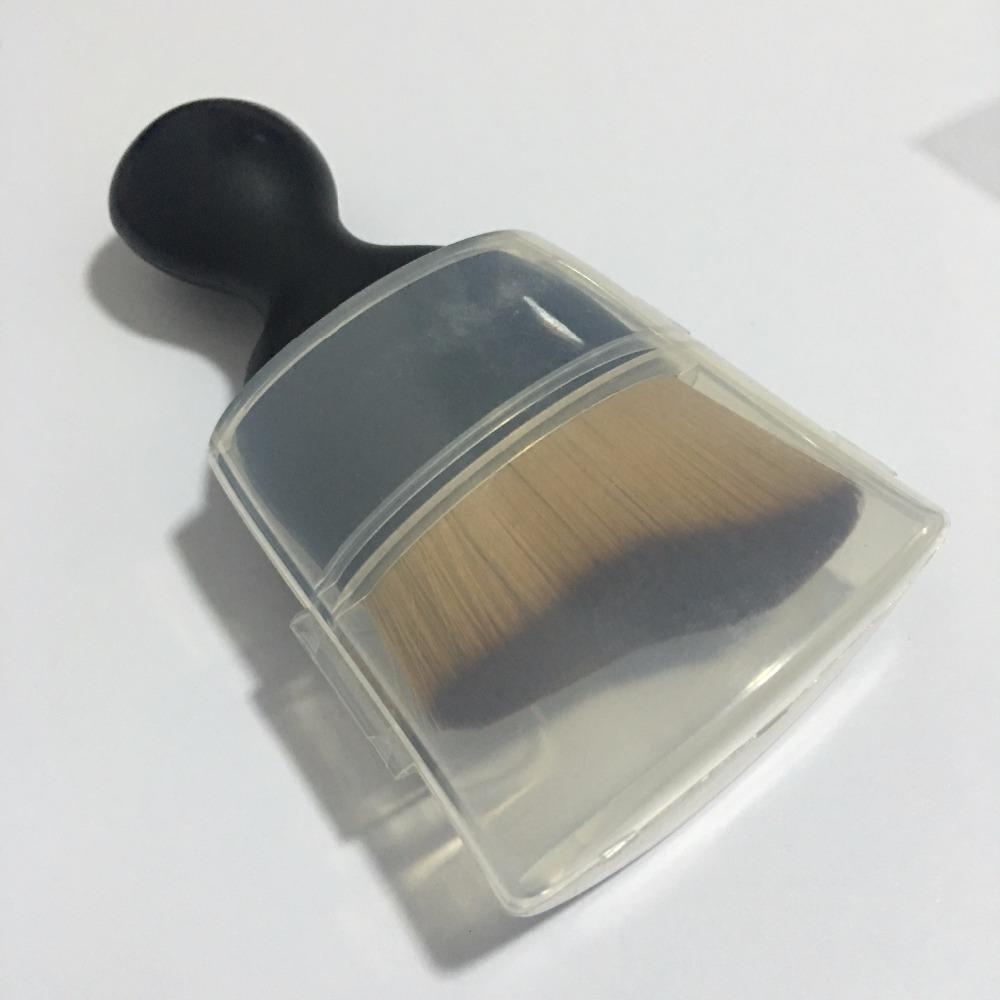 custom logo Kawaii single synthetic hair make up foundation makeup brush